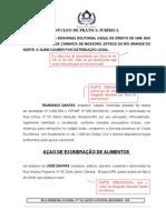 MODELO AÇÃO DE EXONERAÇÃO DE ALIMENTOS (1)