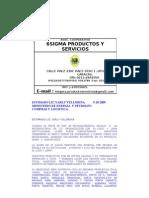 CARTA_EMPRESARIAL.6sigma.productos y Servicios