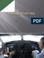 Engine Starting B737