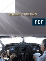 Engine Starting B737