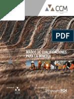 Marco de Cualificaciones Para La Mineria