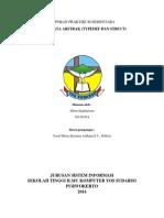 Laporan Praktikum Resmi Tipe Data Abstrak (Typedef Dan Struct)