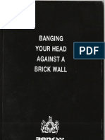 Banksy - Banging Your Head Against a Brick Wall [eBook]