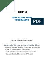 Ec501 - - Chp 3 Ppt Notes