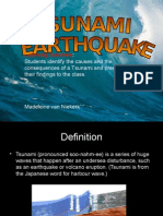Tsunami Disaster Presentation