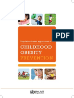 WHO New Childhoodobesity PREVENTION 27nov HR PRINT OK