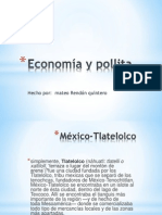 Economía y pollita mateo-Mareo 11°6