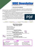 April 2014archer Newsletter