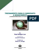 Treinamento para o Candidato a Missionário (MS Word version)