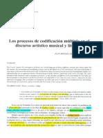 1998Los procesos de codificación múltiple