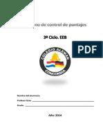 3º Ciclo. Cuadernillo-2014