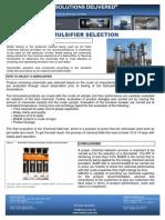 Sd Ofc Demulsifier Selection