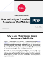 How to Configure CyberSource Secure Acceptance Web/Mobile in Drupal 7