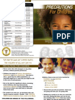 SCAN - Precautions for Children
