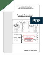Pruebas de Mtto. a Interruptores (UNEXPO).pdf