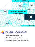 International Marketing Legal Enviorment