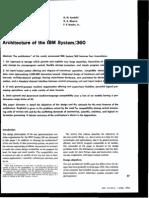 Architecture of IBM System_360