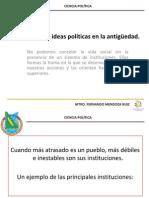 VI. Instituciones e Ideas Politicas en La Antiguedad
