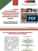 Explotacion Minera Por Labores Subterraneas