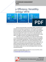 Efficient and versatile hardware management with Dell PowerEdge VRTX