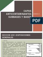 Capas Anticontaminantes Subbases y Bases