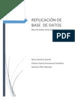 Documentación Rplicacion de Base de Datos