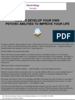 Tony Robbins (eBook-Self Help) How to Develop Your Psychic Abilities to Improve Your Life