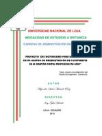 PROYECTO DE IMPLEMENTACON DE LA CARRERA MINISTERIO PASTORAL..pdf