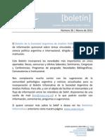 36 - Boletín Marzo 2013