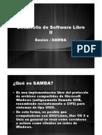 Sesión - SAMBA