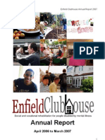 enfield clubhouse annual report 2007