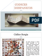 Trabajo No. 9 Codices Prehispanicos