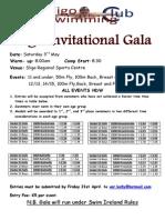 2014 Sligo Invitational Gala