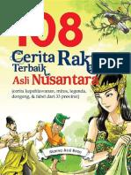 108 Cerita Rakyat Terbaik Asli Nusantara Oleh Marina Asril Reza_2