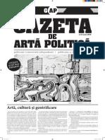 Gazeta de Arta Politica no. 5 - Arta, cultura, si gentrificare