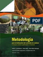 Metodología en estimación de Carbono-español_CEAB-UVG 2010