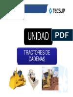 5-Unidad - Tractores de Cadenas Caracteristicas