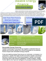 Renewable Energy Finance