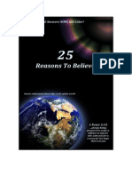 25 Reasons to Believe n Jesus
