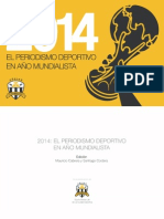 2014 El Periodismo Deportivo en Anio Mundialista