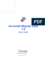 Acronis Migrate Easy 7.0 User Guide