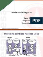 Modelo de Negocios eBusiness 2014