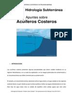 4 Noviembre 2013 Hidrologia Subterrranea ICCP Acuiferos Costeros Apuntes 2013-2014