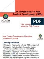 Lecture 9-Managing R & D Projects