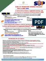 NUEVOS CURSOS  ONLINE  DE  PROMOCIÓN  INTERNA TITULADOS POR LA UNED 2014