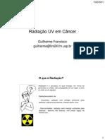 Radiação UV em Câncer