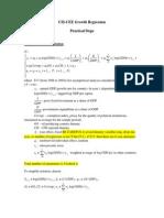 Estimation Steps