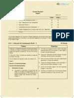 CBSE Class 10 Syllabus Social Science for 2014-2015 (Term 1 and Term 2)