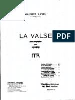 RAVEL - La Valse 2 Pianos 4 Hands