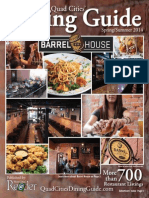 Spring-Summer 2014 Quad Cities' Dining Guide Published by the River Cities' Reader by River Cities Reader